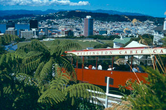 Wellington New Zealand Cable Car & Panorama