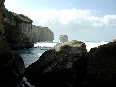 Tunnel Beach, New Zealand - Ad Van Alphen