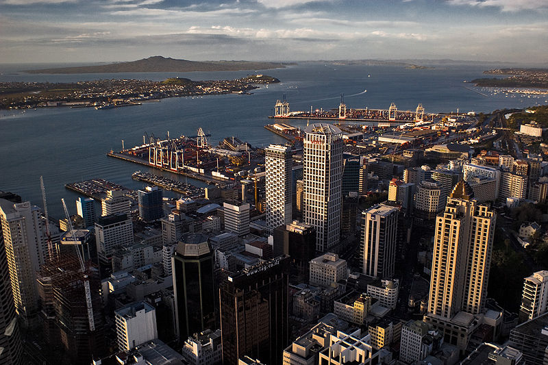Auckland New Zealand Central Business District - CBD