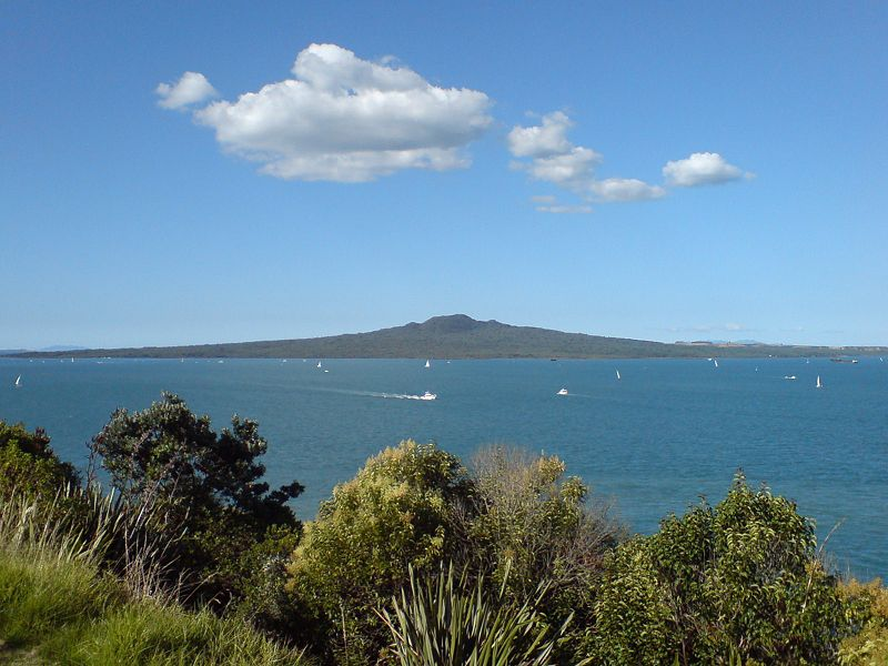 Photograph of Rangitoto Island, Auckland New Zealand