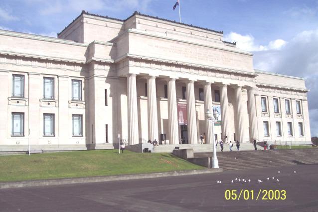 Auckland War Memorial Museum - Auckland New Zealand