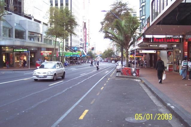 Lower Queen Street Auckland New Zealand Photograph