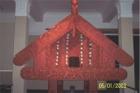 Maori Whare (House) - Auckland Museum