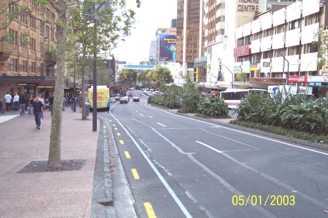 Queen Street Auckland New Zealand Photograph