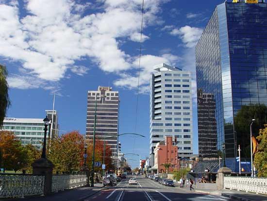 Christchurch Armagh Street business district