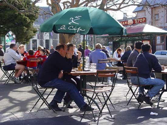 Christchurch Brunching at Le Cafe, Christchurch Arts Centre