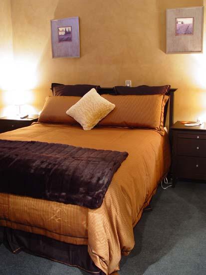 Christchurch City Apartment luxury bedroom