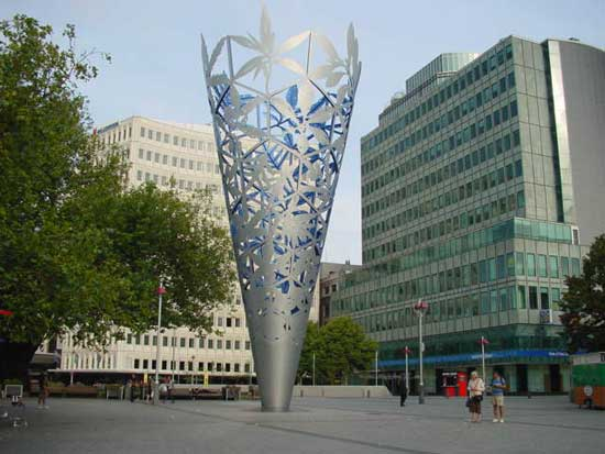 The Chalice, Christchurch Cathedral Square