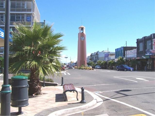 Gisborne New Zealand Clock Tower on Gladstone Road