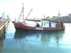 Fishing Boat in Gisborne Harbour - Port of Gisborne