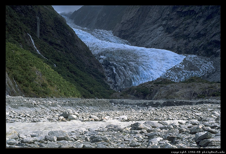 Hiking - Glacier, West Coast, South Island, New Zealand