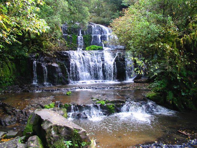 Purakanui Falls, New Zealand - John Murray
