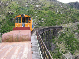 De Flat Stream Train