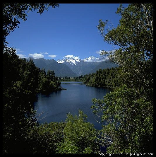 Lake Matheson, New Zealand - Philip Greenspun