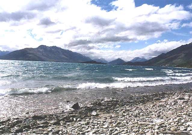 The Northern End of Lake Wakatipu New Zealand