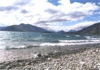 Northern end of Lake Wakatipu New Zealand