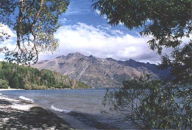 Lake Wakatipu New Zealand Near Walter Peak