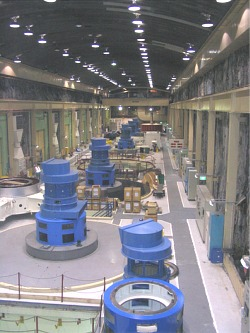 The Manapouri Power Station machine hall - Feb 2005