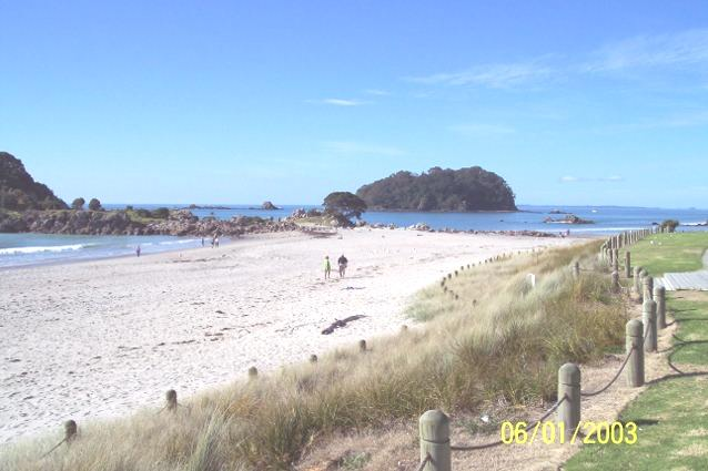 Photograph of Mt Maunganui New Zealand