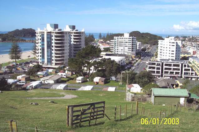 Photograph of Mt Maunganui New Zealand