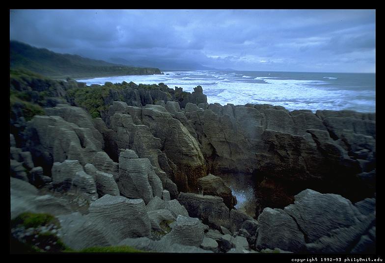 Pancake Rocks WC South Island New Zealand