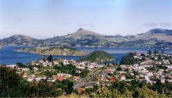 Port Chalmers and Otago Harbour