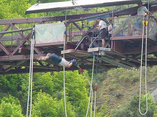Kawarau Bridge Bungy Jump, New Zealand