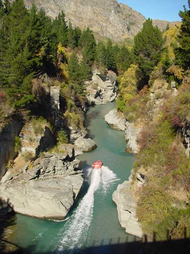 The Shotover River, New Zealand