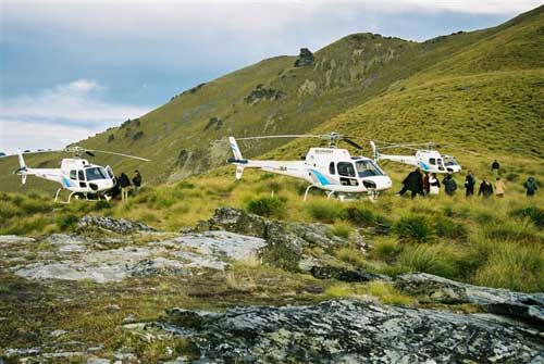 Heli Works Choppers - Queenstown, New Zealand