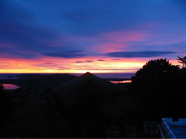 Otago Peninsula Sunrise - New Zealand