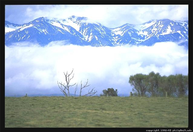 South Island of New Zealand Photograph