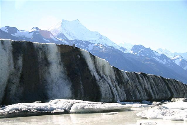Tasman Glacier and Mount Cook