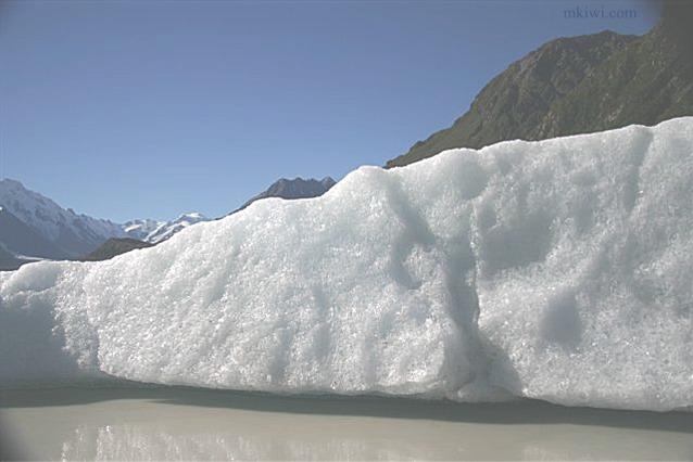 Iceberg at Tasman Glacier, New Zealand