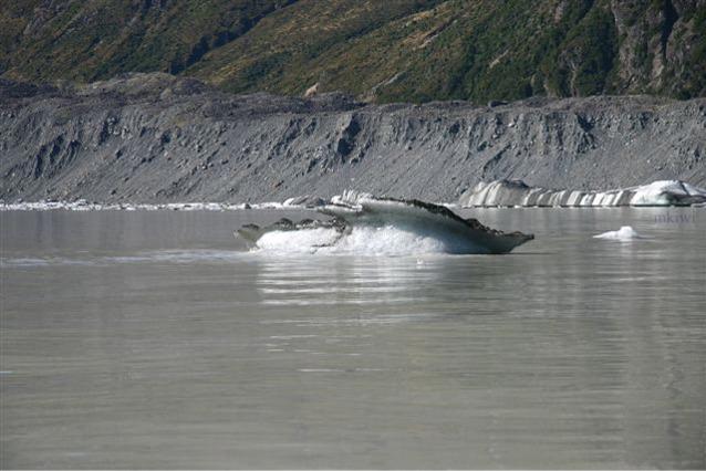 The Tasman Glacier Lake, Tasman Glacier, New Zealand