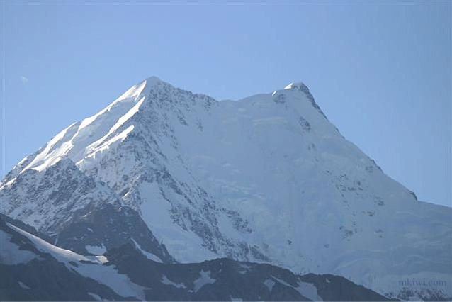 Mount Cook from Tasman Glacier