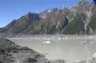 Tourist Boat at Tasman Glacier