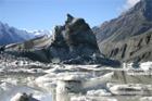 Tasman Glacier, New Zealand photograph