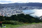 Wellington New Zealand from Mt Victoria
